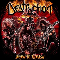 Новые альбомы - Destruction - Born To Thrash. Live In Germany